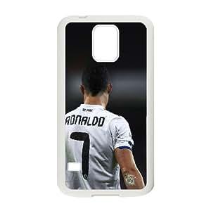 Samsung Galaxy S5 Cell Phone Case White_hc74 cristiano ronaldo 7 real madrid soccer Dmplx