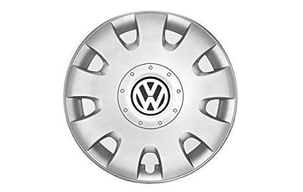 Original Volkswagen VW Repuestos Set Tapacubos 15