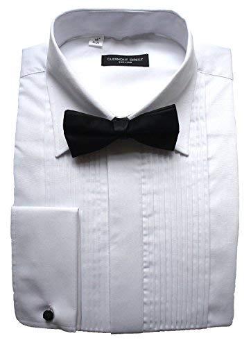 Clermont Direct Polialgod/ón Plisado Fold Down Cuello Vestido Camiseta