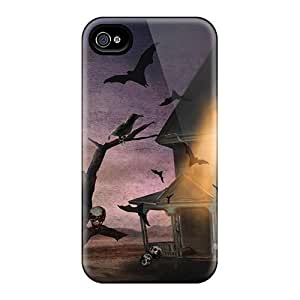 BretPrice PjL5271QZFz Case Cover Iphone 4/4s Protective Case Halloween Haunting