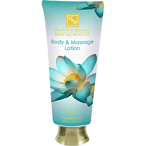 Health and Beauty Dead Sea Cosmetics Fresh Body and Massage Lotion from Lifestyle Merch
