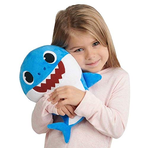 BabyShark Singing Plush - Music Sound Baby Shark Plush Doll Soft Baby  Cartoon Shark Stuffed & Plush Toys Singing English Song For Kids Gift  Children