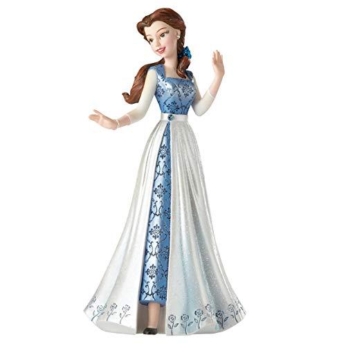 Disney Showcase Couture de Force Belle in Blue Dress