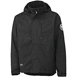 Helly Hansen Workwear Hombre Berg Insulated chamarra, color negro, talla X-large