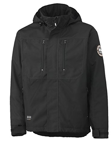 Helly Hansen Workwear Men's Berg Insulated Jacket, Black, Large