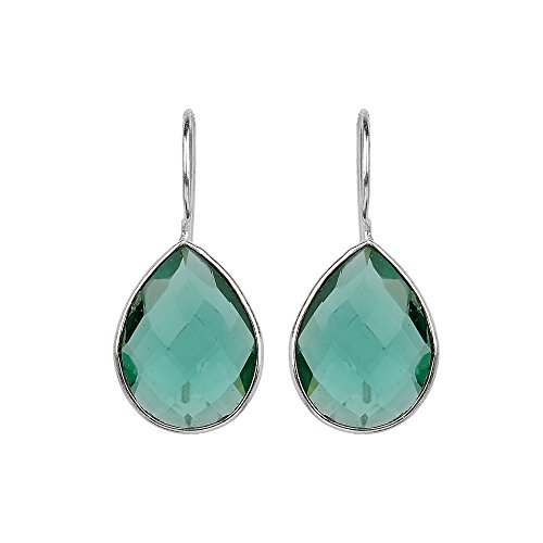 New Chic Fashion Women's Jewelry Green Quartz Ear Earrings Gift