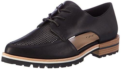 96 Negro Mujer de Synthetic Oxford Camuno Black Cordones para Aldo Zapatos paSx8S