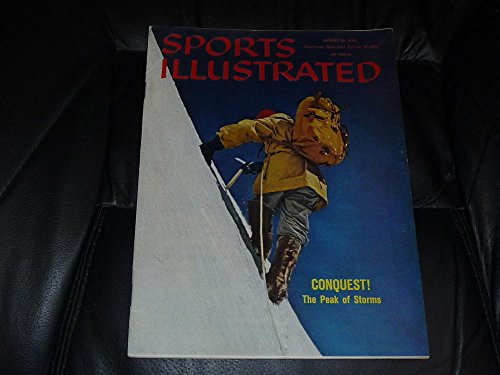 1960 MOUNTAIN CLIMBING NO LABEL NEWSSTAND ISSUE SPORTS IL...