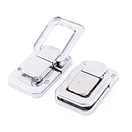 2pcs DealMux mala Toolbox Tronco Toggle latch captura tom de prata - - Amazon.com
