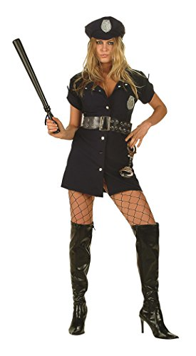 RG Costumes In The Line Of Duty, Navy Blue, Medium(6-8)