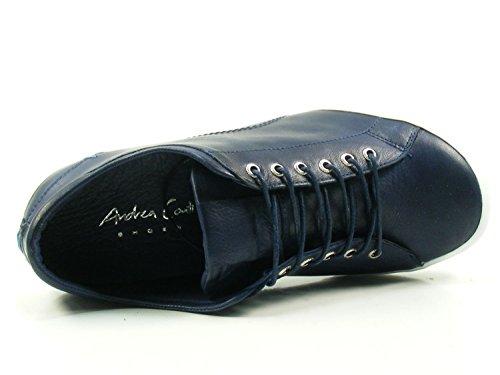 Cuero Azul Andrea De Conti Mujer 0340559 Zapatos Para qxSwOPB