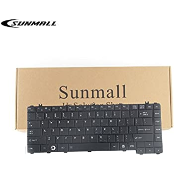 SUNMALL Keyboard Replacement for Toshiba Satellite Pro C640 L640 L645 C600 C605 C640 C600D C645 L700 L745 Series Laptop Black US Layout(6 Months Warranty)