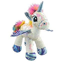Stuffed Animal with Reversible Flip Sequins