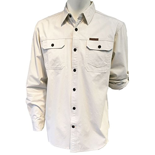 field-stream-original-outfitters-brushed-poplin-long-roll-up-sleeves-shirt-large-ecru