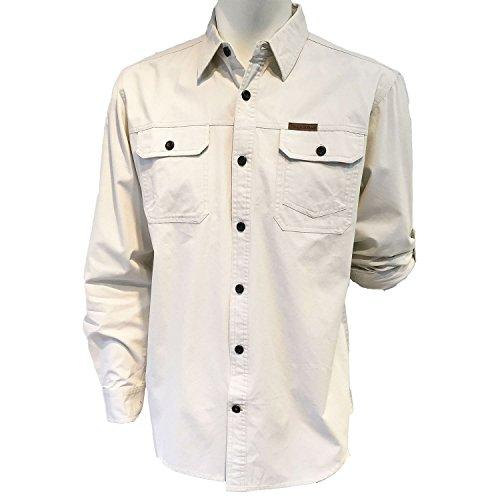 field-stream-original-outfitters-brushed-poplin-long-roll-up-sleeves-shirt-xl-large-ecru