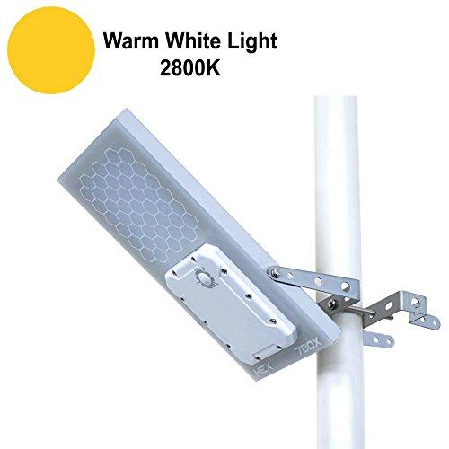 Solar Street Light // HEX 780X Solar Street Light (Warm