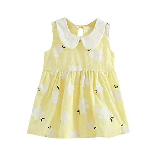 8eef1dd0a4 Lurryly Baby Girls Sleeveless Dresses Summer Party Dress Kids Sundress  Clothes Outfit. Ean  0651757985142