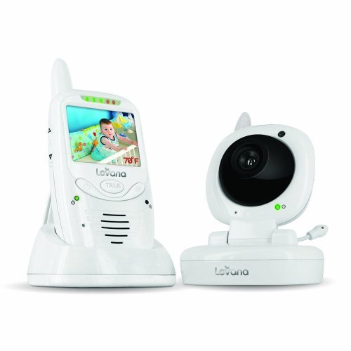 Levana Jena Digital Baby Video Monitor and Talk to Baby Intercom