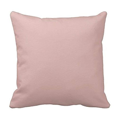 Home&apron Fashion s Best Design Dusty Rose Pink Color Trend Blank Template Throw s