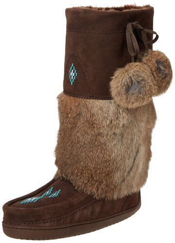 Chocolate Snowy Winter Boot Mukluk Mukluks Women's Owl Manitobah 7xqSw0fE