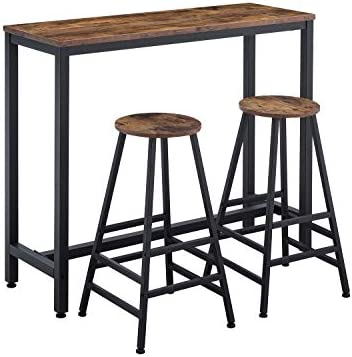 AMOAK Bar Table Set of 3