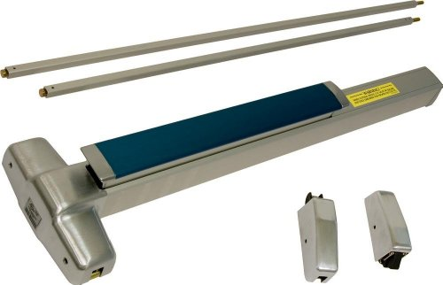 Von Duprin 9827EOF 3ft. Fire Rated Surface Mounted Vertical Rod Exit Device from, Anodized Duranodic by Von Duprin