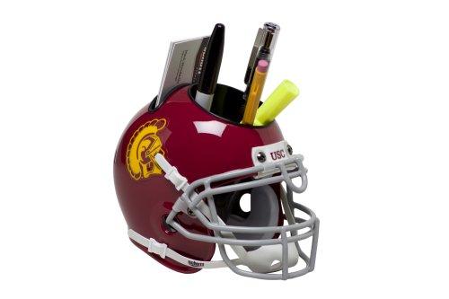 Schutt Sports USC Trojans Football Helmet Desk Caddy, Classic (Helmet Caddy)