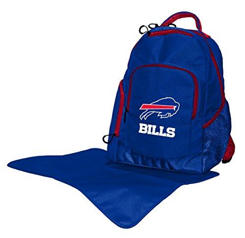 Wild Sports NFL Buffalo Bills Diaper Backpack, 17 x 13.5 x 7-Inch, Blue