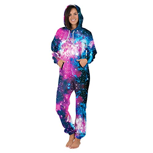 sleeve long all sky printed in 3 nightwear pyjamas 3d costumes onesie one unisex piece jumpsuit