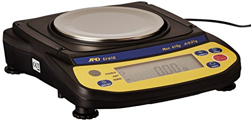 A&D Engineering Newton EJ-610 Series EJ Compact Balance, ...