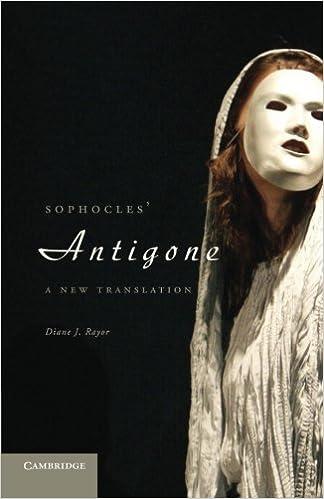 Book Sophocles' Antigone: A New Translation by Diane J. Rayor (2011-06-16)