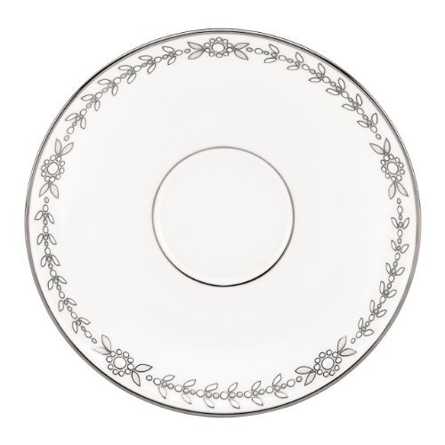 - Lenox Marchesa Couture Tea Saucer, Empire Pearl