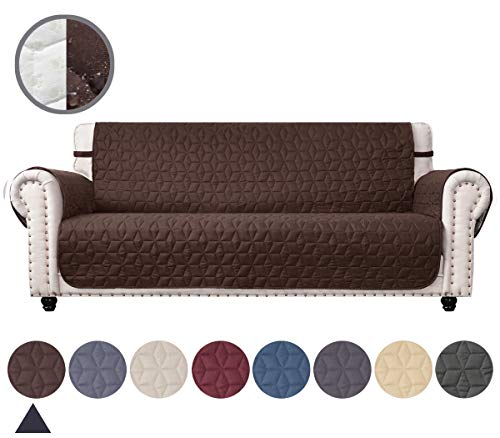 Ameritex Couch Sofa Slipcover 100% Waterproof Nonslip