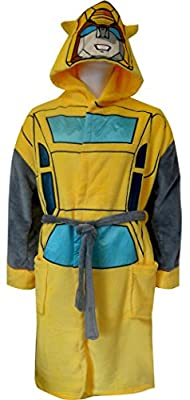 Transformers Bumblebee Bathrobe