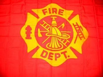 3X5 ft Fire Dept. Flag -