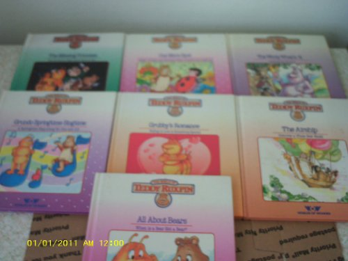 The World of Teddy Ruxpin 6 Volumes (One More Spot, All About Bears, The Airship, Grubby's Romanc, The Wooly What's It, Grundo Springtime (Teddy Ruxpin Grubby)