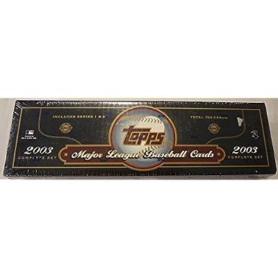 2003 Complete Topps Baseball Factory Set by Sports Memorabilia LLC
