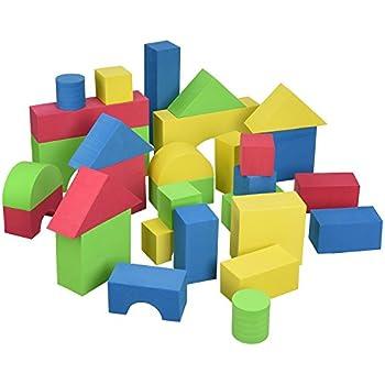Imaginarium foam building blocks 100 pieces for Foam block house construction