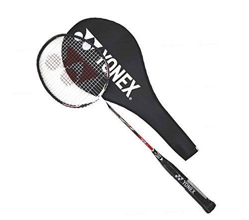 Yonex Nanoray 10F Badminton Racquet-Red (Yonex Cap)