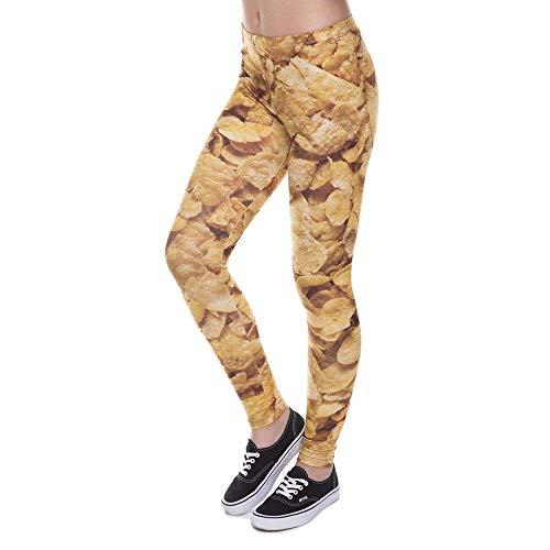Weeds Impreso Llegada Nueva Mujer Moda Estilo Leggins Único Color De Pantalones Lga41594 Nuevo Betrothales Yoga Legins Con Leggings Legging SwYX18qnx