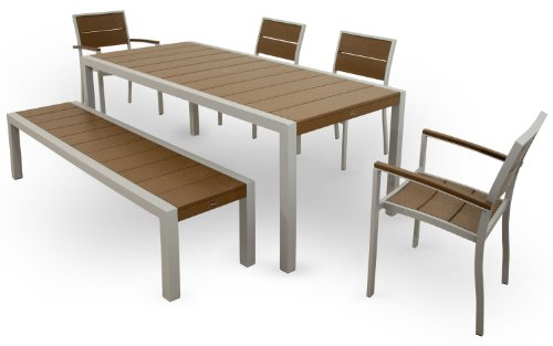Trex Outdoor Furniture TXS124-1-11TH Surf City 6-Piece Dining Set