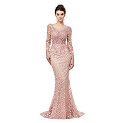 Luxury Beaded Crystals Gown