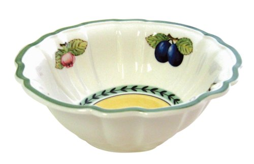 French Garden Fleurence Rice Bowl by Villeroy & Boch - 20 Ounces by Villeroy & Boch