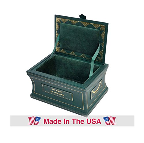 The Leather Chess Casket - Green - by The House of Staunton ()