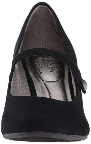 Lifestride Womens Parigi Mj Dress Pump Black Micro