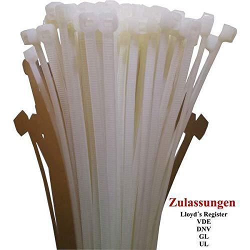 Kabelbinder Kabelbinder Kabelbinder 165 x 2,5mm - 1.500 zertifizierte Qualitäts-Binder - natur weiß B07N963LQJ | Deutschland Shops  8039de