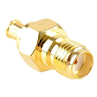 1 x Gold Plated SMA Female to MCX Female Straight RF Connector Adapter USA
