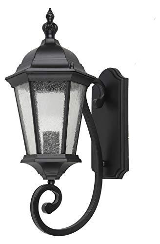 Ontario 20 Inch Outdoor Wall Lantern in Black (Ontario Outdoor Fixture)