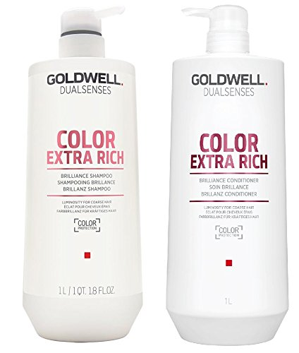 Goldwell Dualsenses - Color Extra Rich Shampoo Conditioner Duo 1 Liter ()