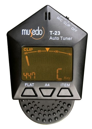 Musedo Clip-On Chromatic Auto-Tuner, (T23 Lcd)